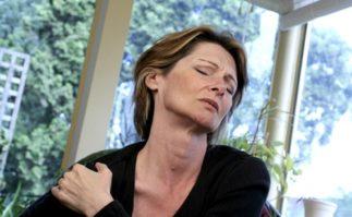 Berkeley Accupunture lady in pain