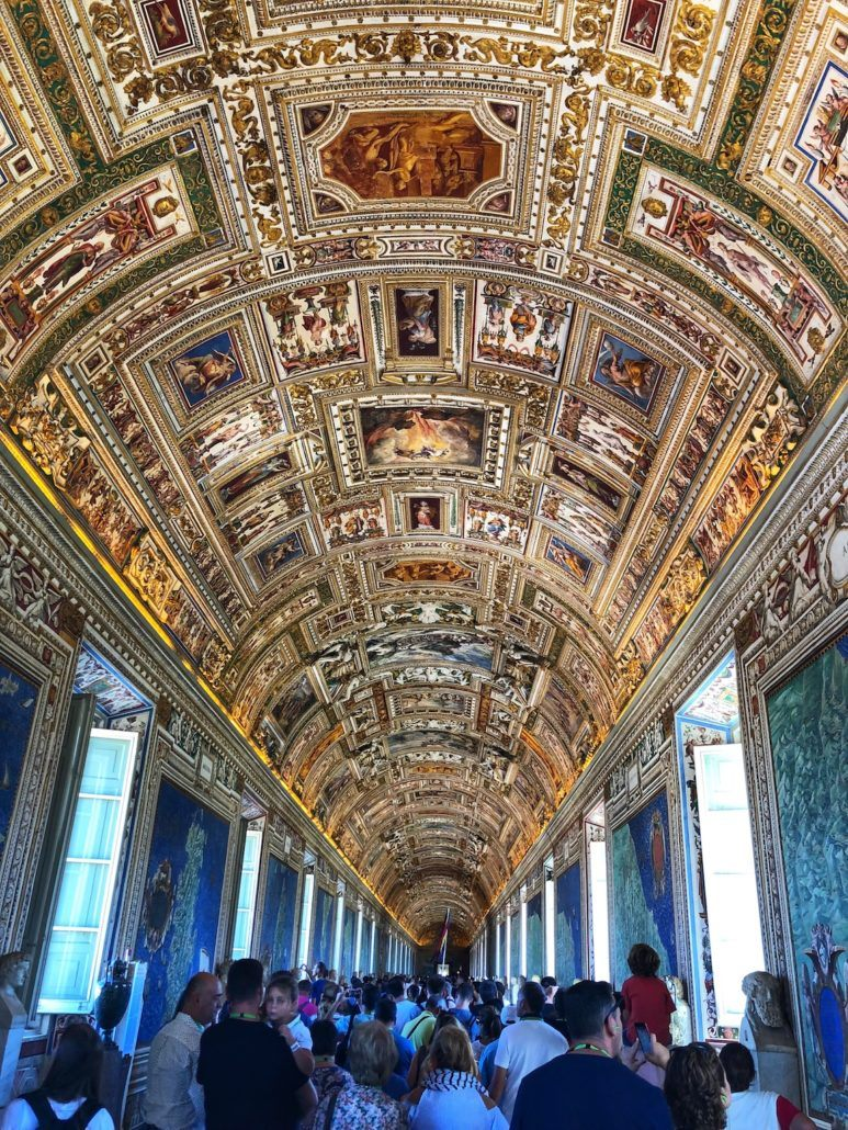 The Vatican Gallery of Maps